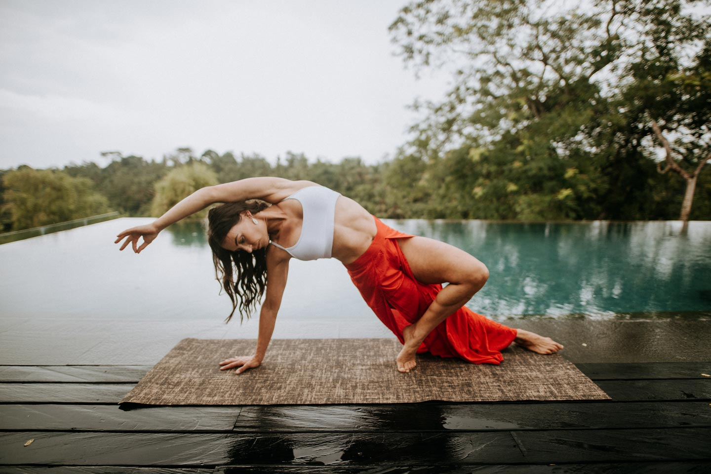 yoga photo shoot in ubud bali